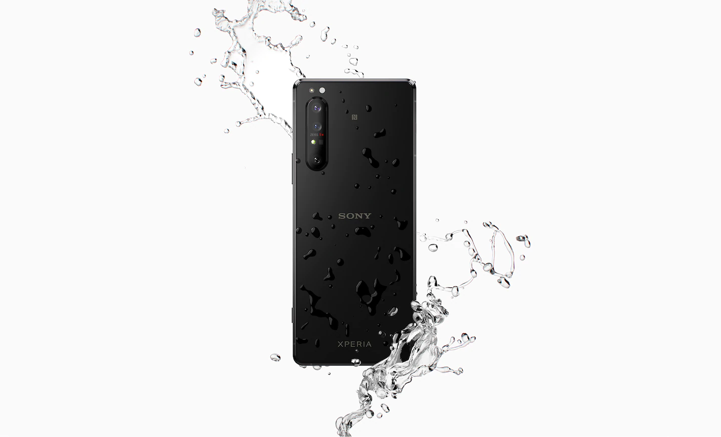 Xperia 1 II's with IP65/68 water resistance and Corning Gorilla Glass 6® on both sides