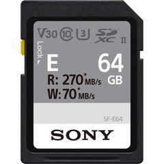 SF-E Series UHS-II SD Memory Card