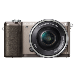 α5100 E-mount Camera with APS-C Sensor (Body with SELP1650 Lens)