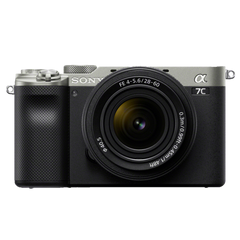 α7C 35mm Full-frame Mirrorless Interchangeable Lens Camera (Body with SEL2860 Lens)
