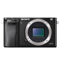 A6000 E-mount Camera with APS-C Sensor (Body Only)