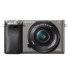 A6000 E-mount Camera with APS-C Sensor (Body with SELP1650 Lens)
