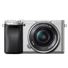 α6400 E-mount Camera with APS-C Sensor (Body with SELP1650 Lens)