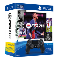 DUALSHOCK® 4 Wireless Controller EA SPORTS™ FIFA 21 Voucher Bundle