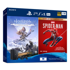 PlayStation®4 Marvel's Spider-Man Horizon Zero Dawn™ Bundle