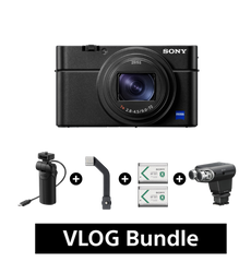 RX100 VII Compact Camera, Unrivalled AF (with Shooting Grip) + ECM-XYST1M Bundle