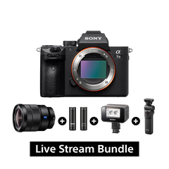 A7 III 35mm Full-Frame Image Sensor (Body Only) + SEL1635Z + ECM-AW4 + GP-VPT2TB + HVL-LEIR1 Bundle