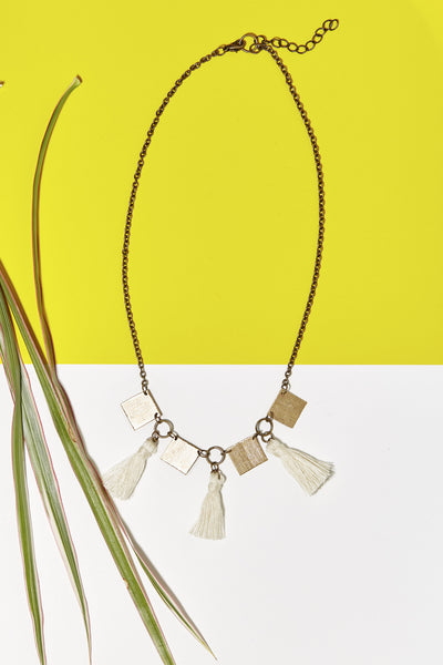 Eventyr Collar Necklace- Cream