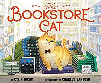 The Bookstore Cat Hardcover