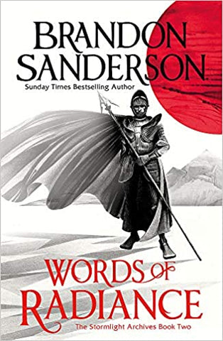 Words of Radiance by Brandon Sanderson - Paperback Combo