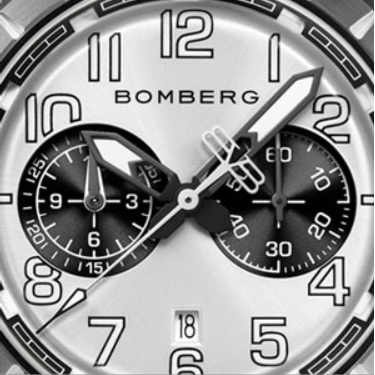 BB-68 GREY & BLACK - B O M B E R G