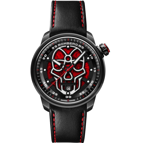 BB-01 AUTOMATIC SKULL RED