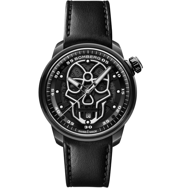 BB-01 AUTOMATIC SKULL BLACK