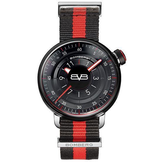 BB-01 43mm BLACK & RED - B O M B E R G