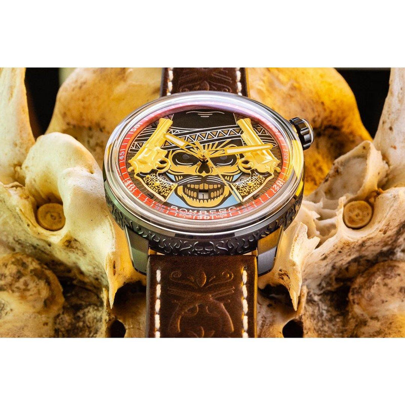 BB-01 AUTOMATIC PISTOLEROS - B O M B E R G WATCHES