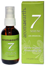 7 Serum Purely Organic Moisturizing Oil with Argan