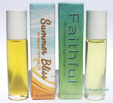 Essential Oil Perfumes DUO