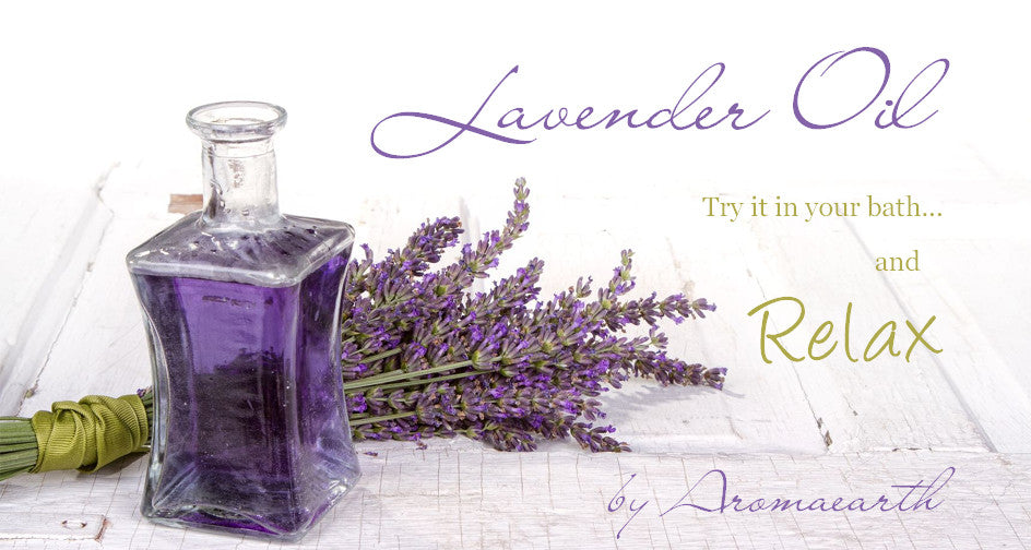 Lavender Oil by Aromaearth