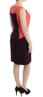 Multicolor Plando pencil dress