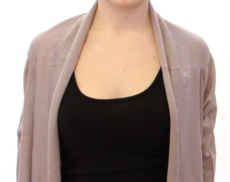 Shrug Bolero Silk Cashmer Knit Sweater