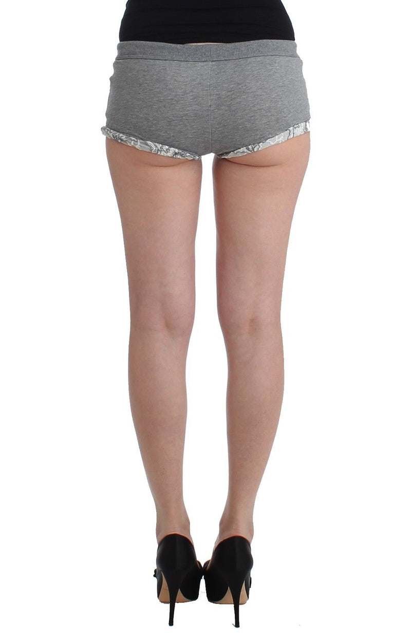 Lingerie Gray Mini Shorts Sleepwear Hotpants