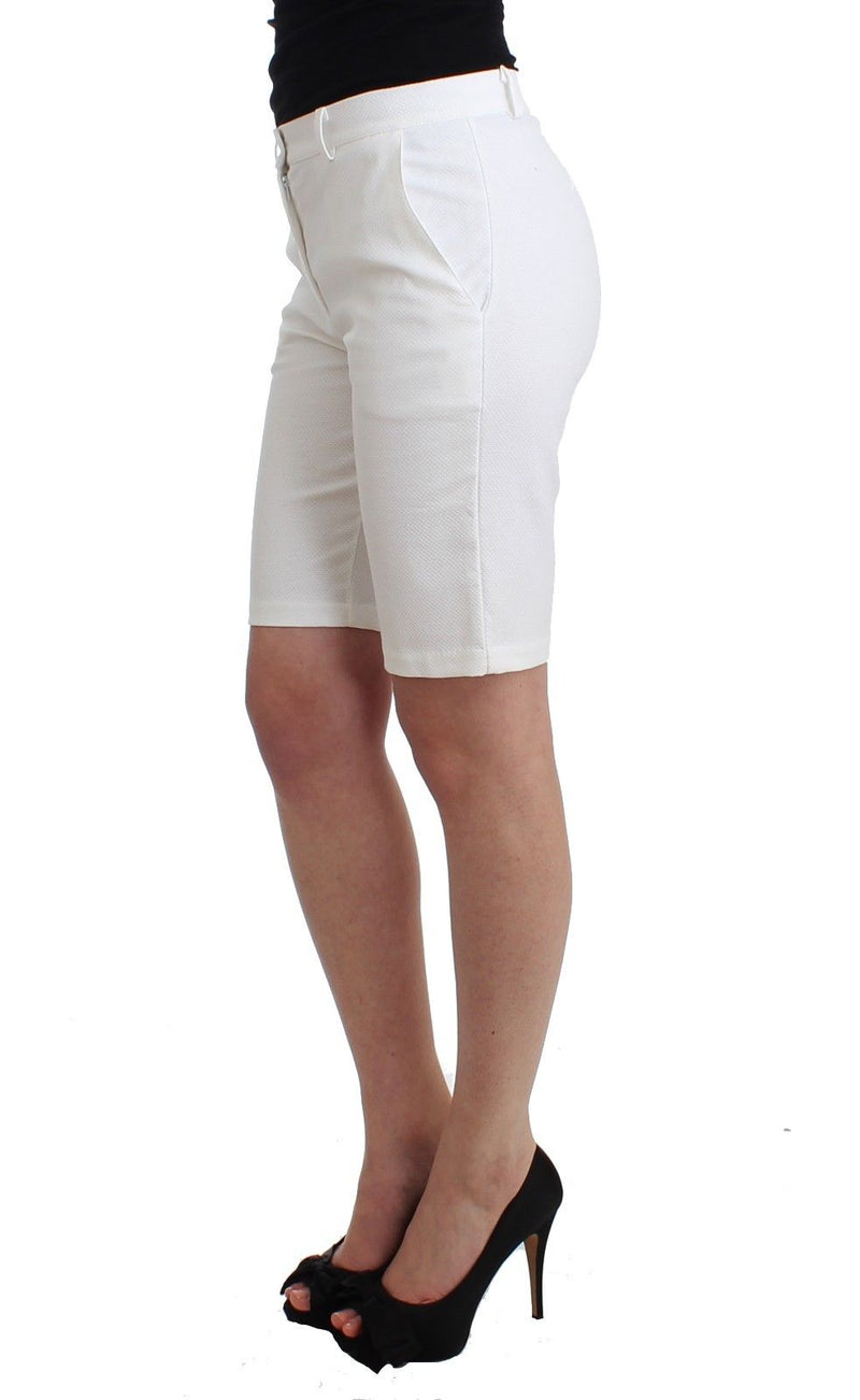 Beachwear White Bermuda City Shorts Dress