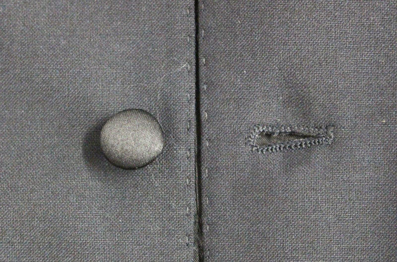 Blue Wool Blend Formal Dress Vest Gilet