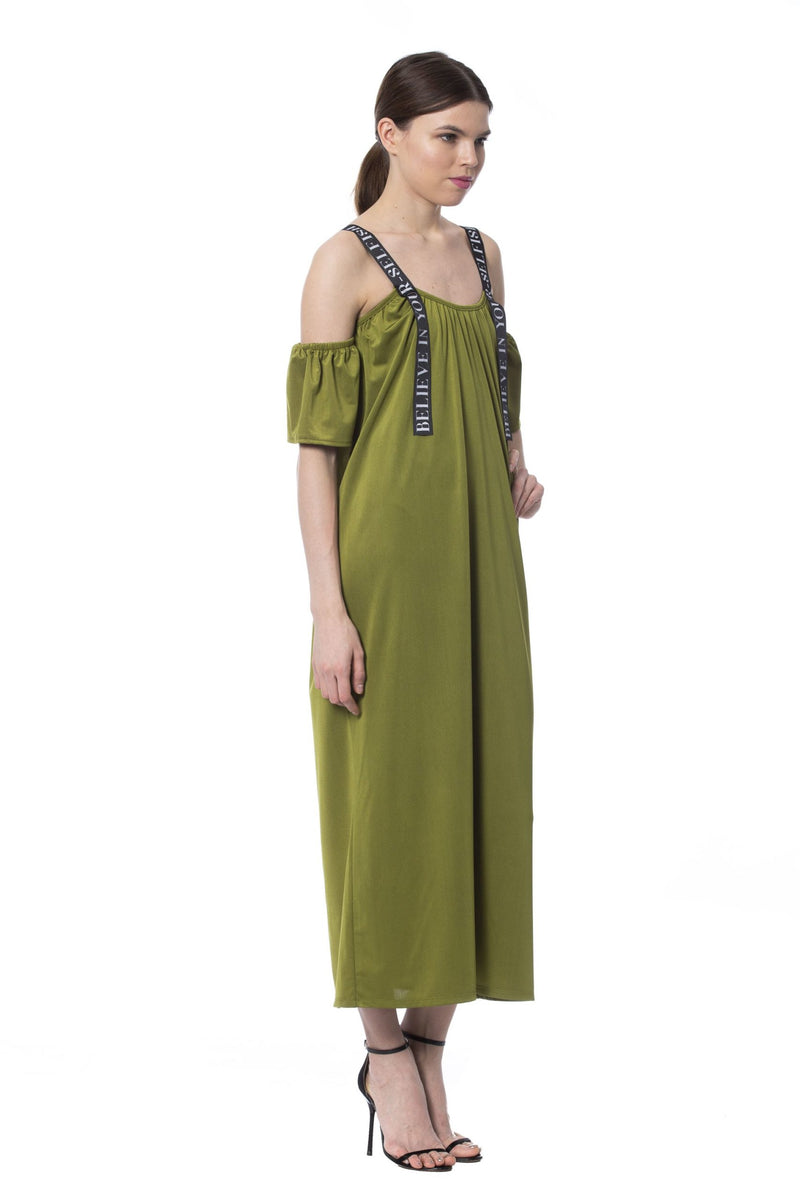 Army Long Sleeveless Dress