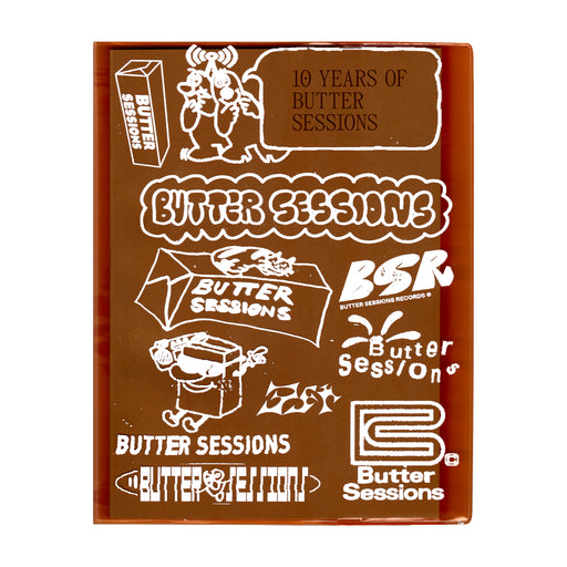 10 Years of Butter Sessions - Book (Limited Edition)