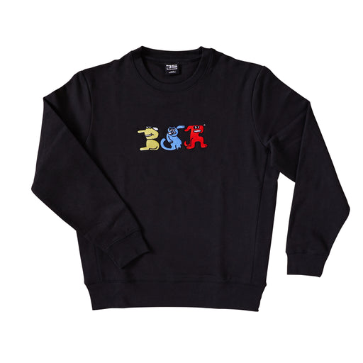 Rittle King Embroidered Crew neck