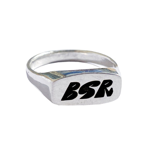 BSR Sterling Silver Ring