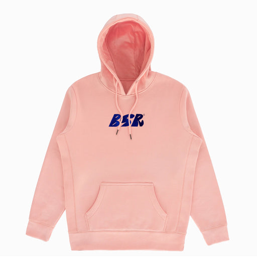 BSR Embroidered Logo Hoodie - Salmon