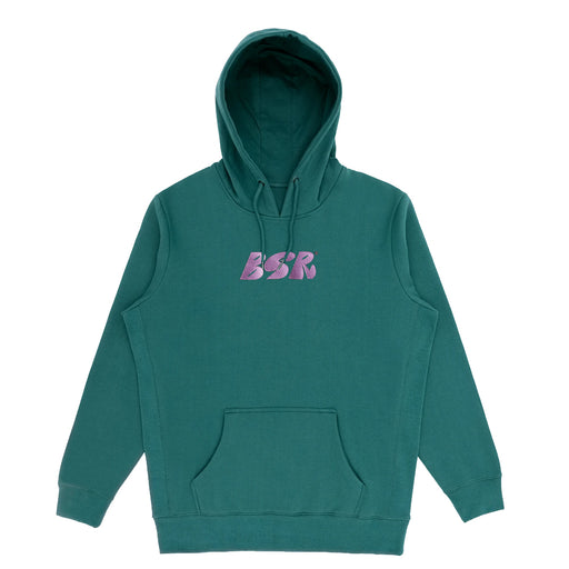 BSR Embroidered Logo Hoodie - Bayberry