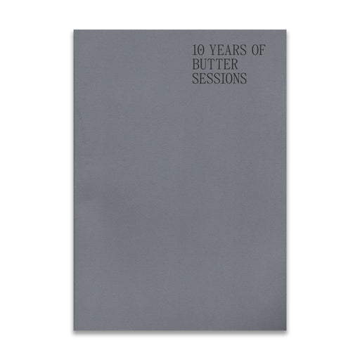10 Years of Butter Sessions - Book
