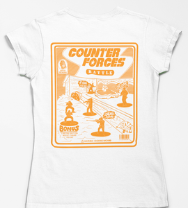 Ladies Counter Forces Battle Tee