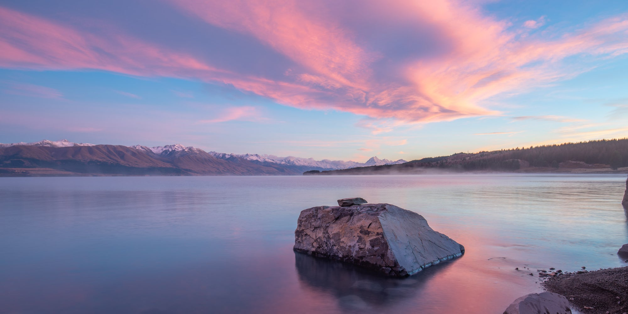 New Zealand Photography Tour – Day 3 – Lake Pukaki to Mt Cook