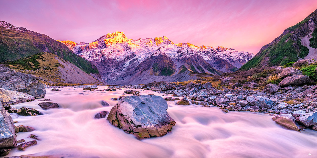 New Zealand Photography Tour – Day 4 – Mt Cook along Haast Pass back to Lake Hawea