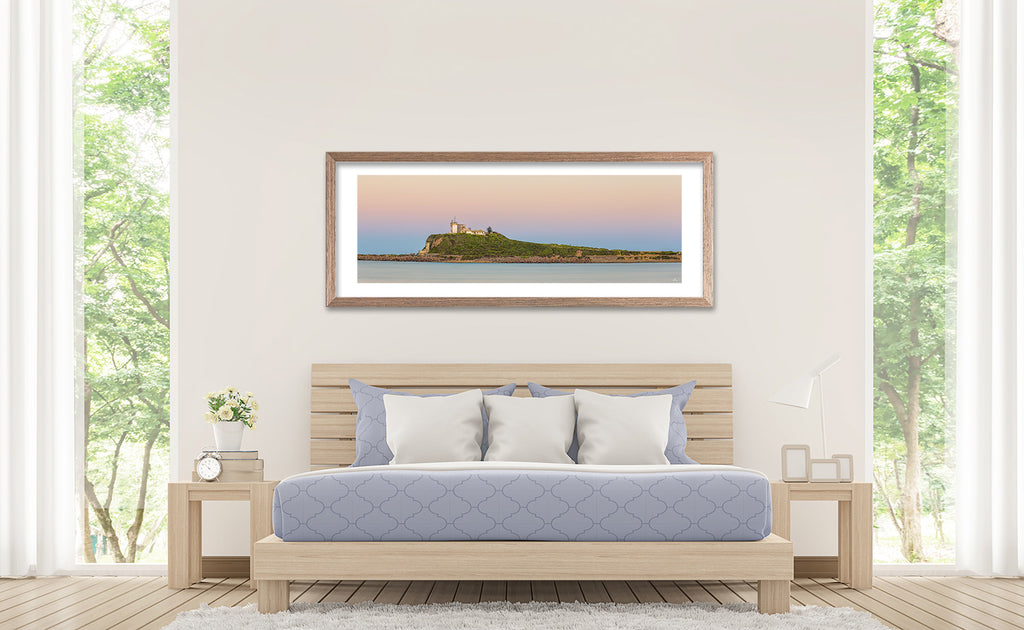 "Nobbys Lighthouse, Newcastle. 60"" Framed print"