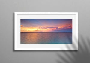 Nightcliff Ocean Sunset