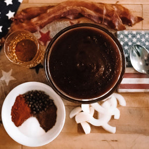 Bourbon & Smokey Bacon BBQ Sauce