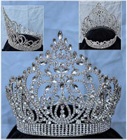 Empress Carlotta Rhinestone Crown