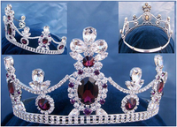 Royal Melbourne Crystal Amethyst Tiara
