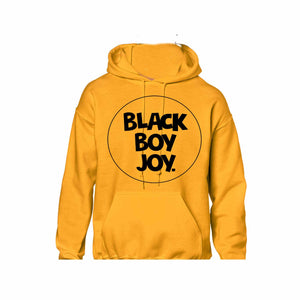 BLACK BOY JOY HOODIE (GOLD)