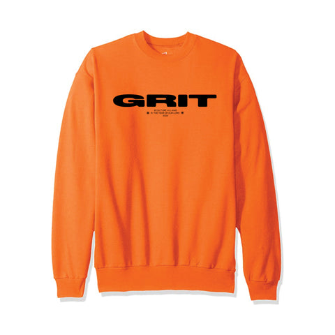 GRIT SWEATSHIRT (ORANGE)