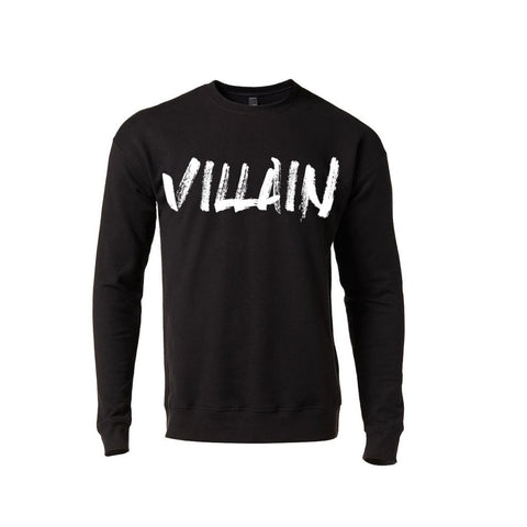 VILLAIN SWEATSHIRT (BLACK)