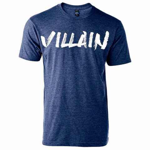VILLAIN T-SHIRT (DENIM)