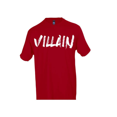 VILLAIN S/S T-SHIRT (RED)