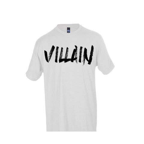 VILLAIN T-SHIRT (WHITE)
