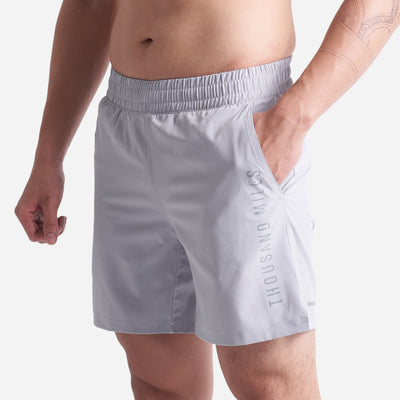 Motiv PRO Workout Shorts - Silver