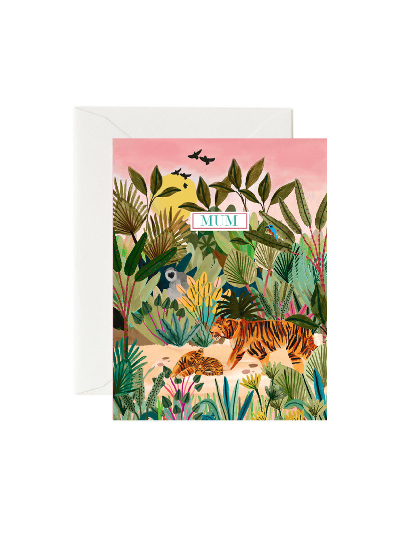 Tiger Mum Mothers day card